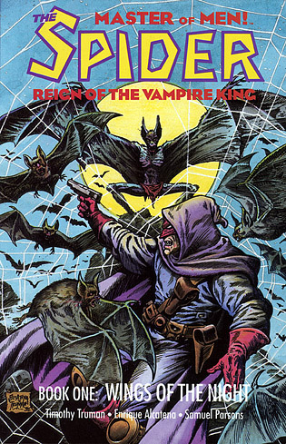Tim Truman's Bat Man comic cover
